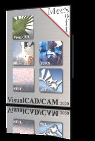VisualCAD/CAM 2020 MILL – Xpress